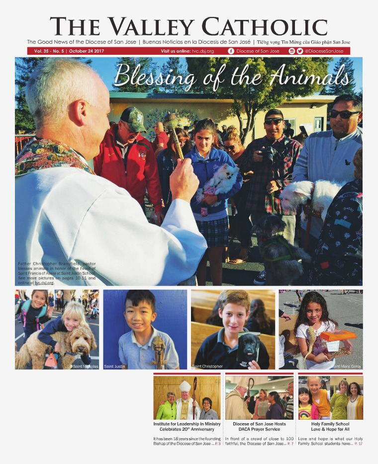 The Valley Catholic October 24, 2017