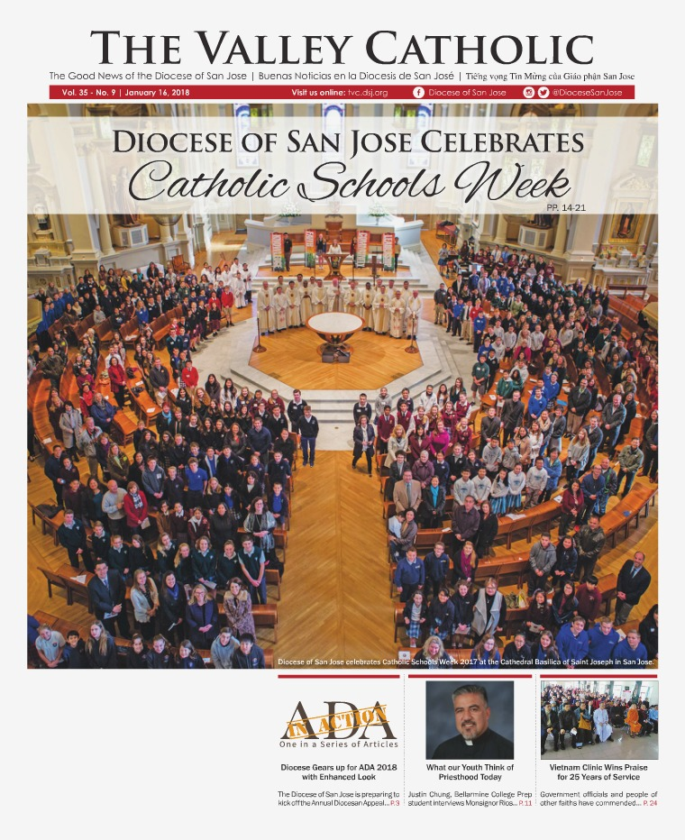 The Valley Catholic January 16, 2018