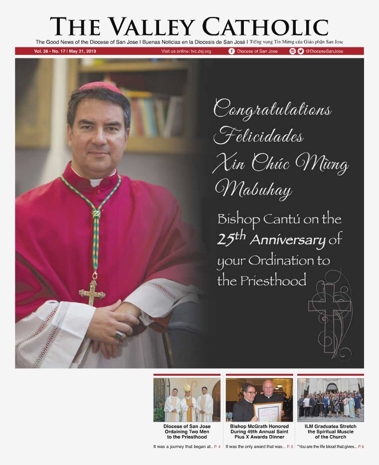 The Valley Catholic May 21, 2019