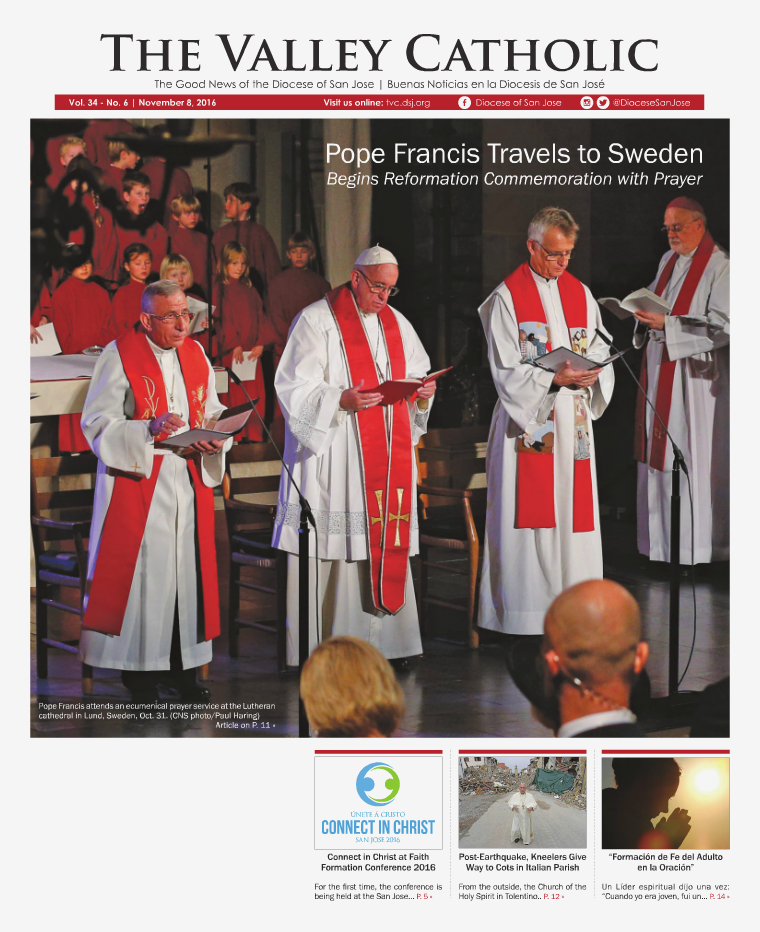 The Valley Catholic November 8, 2016