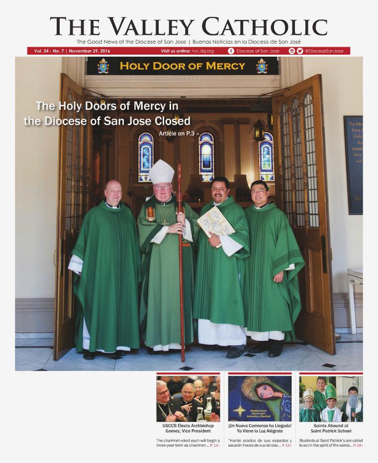The Valley Catholic November 29, 2016