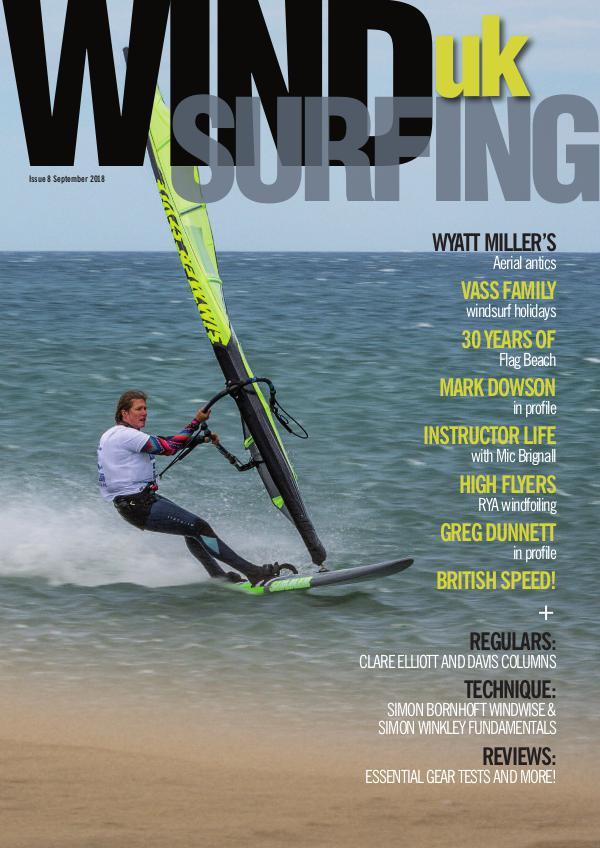 WindsurfingUK Issue 8 September 2018