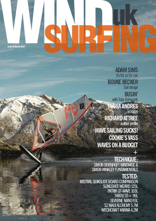 WindsurfingUK issue 10 March 2019