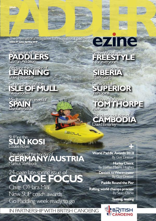 The Paddler ezine Issue 47 Late Spring 2019