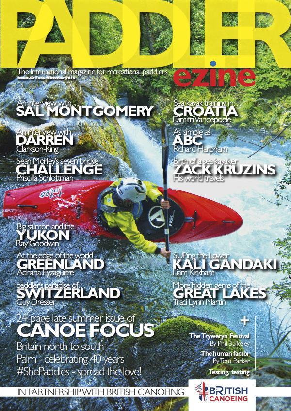The Paddler ezine Issue 49 Late Summer 2019