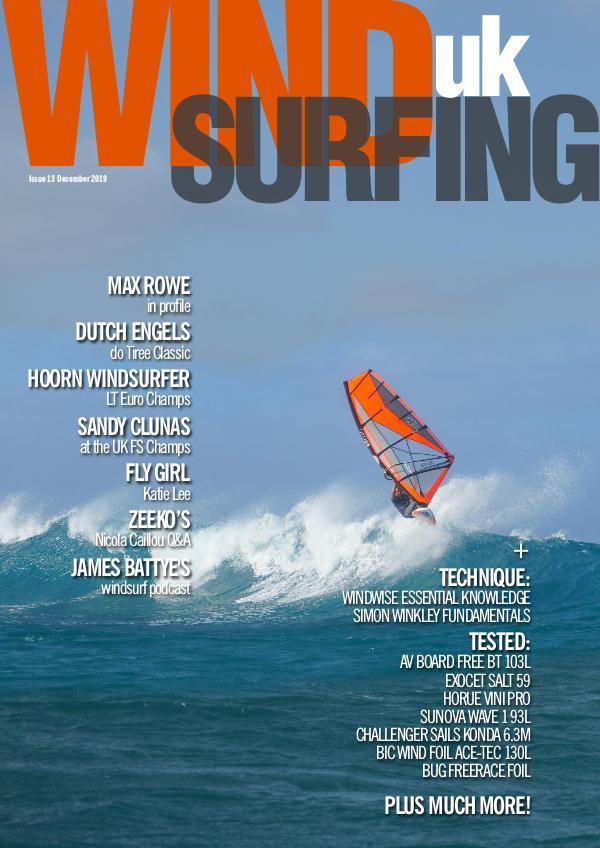 WindsurfingUK issue 13 November 2019