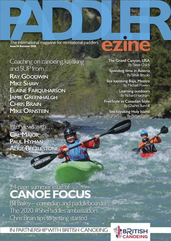 The Paddler ezine Issue 54 summer 2020