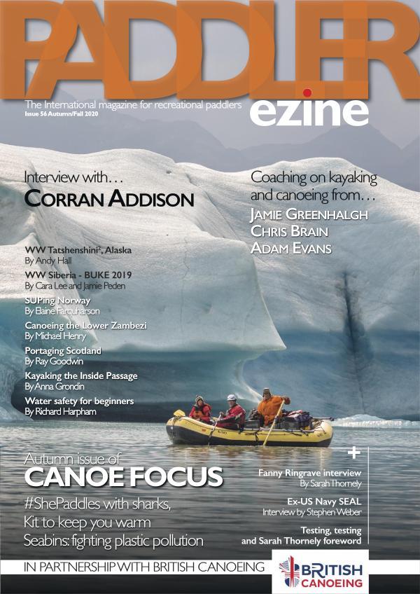 The Paddler ezine Issue 56 Autumn/Fall 2020