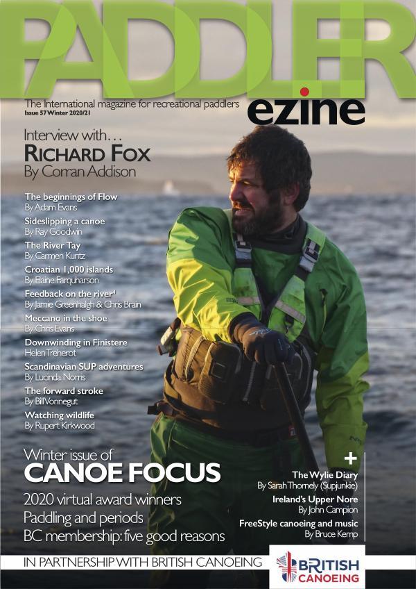 The Paddler ezine Issue 57 Winter 2020/21