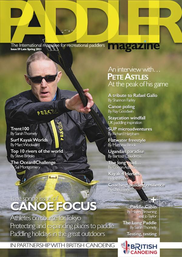 The Paddler Magazine Issue 59 Late Spring 2021