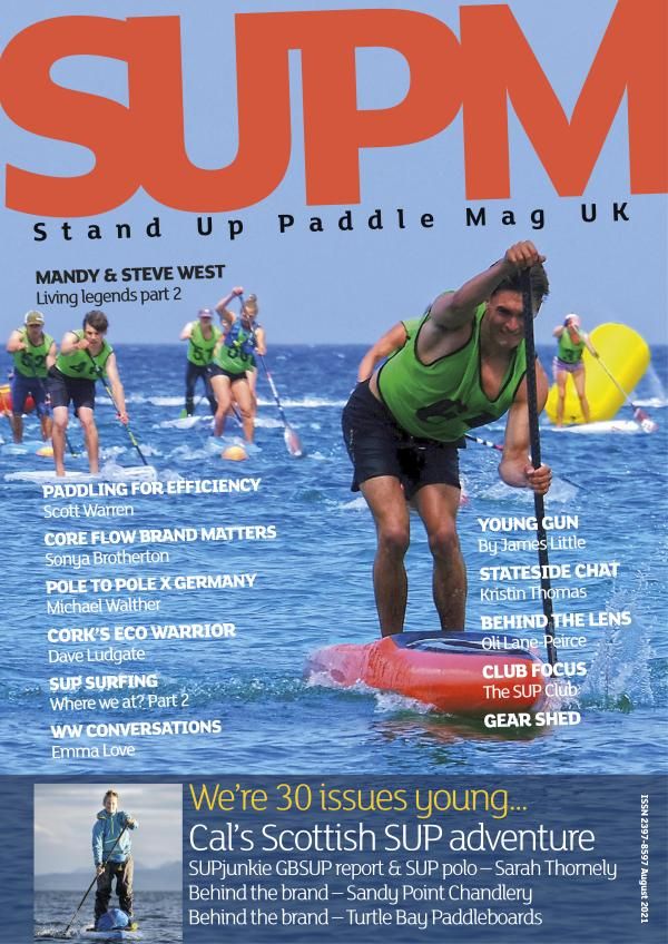 SUP Mag UK August 2021 issue 30