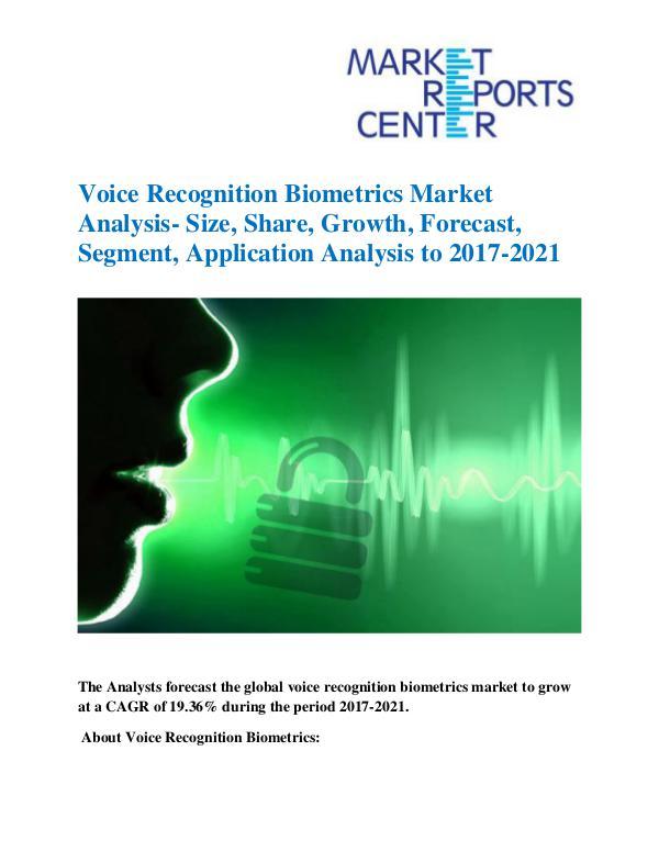Voice Recognition Biometrics Market