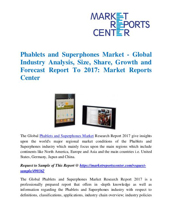 Phablets and Superphones Market