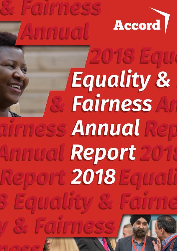 Fairness Report 2018 Fairness Annual Report 18