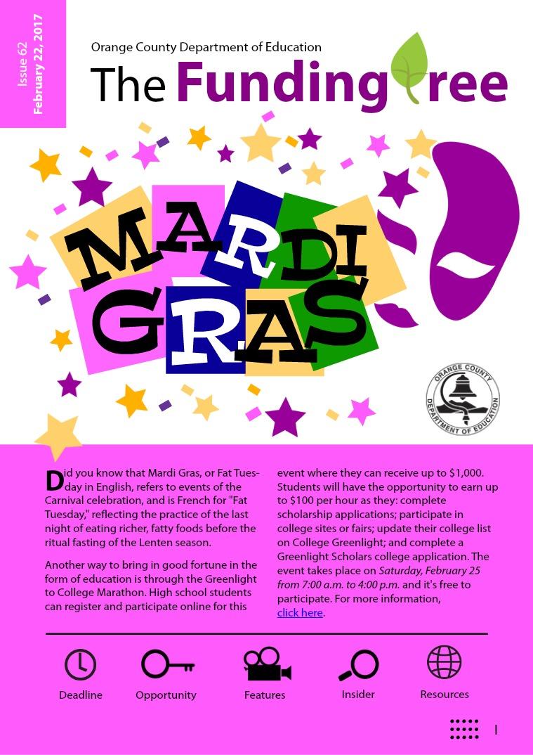 Issue 62: Mardi Gra