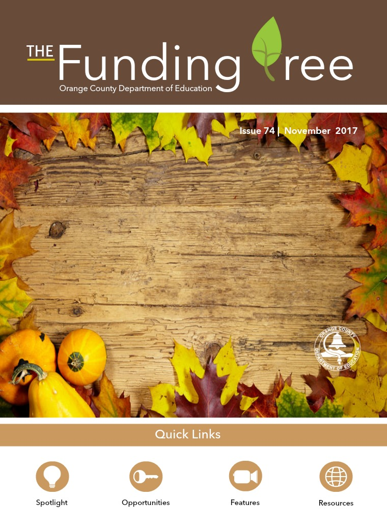 The Funding Tree Issue 74: Thanksgiving