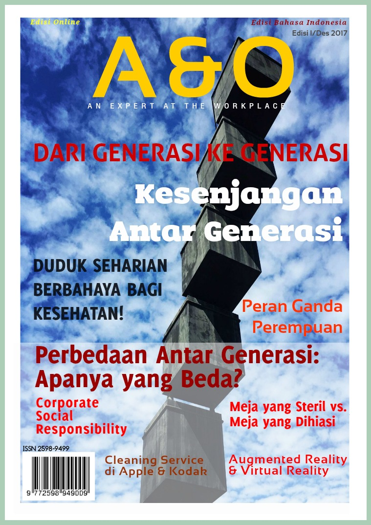 Edisi I Nov 2017 Kesenjangan Antar Generasi