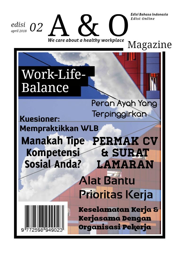 Edisi II Apr 2018 Work-Life-Balance