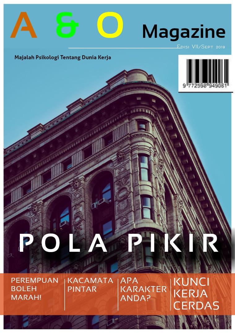 Edisi VII September 2019 Pola Pikir