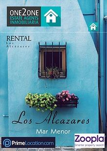 FOR RENT -  LOS ALCÁZARES