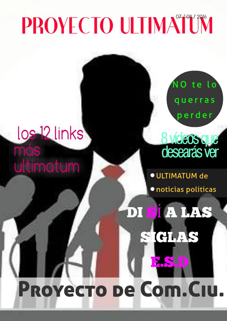 Revista política ULTIMATUM 1