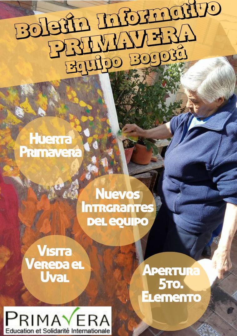 Boletín Informativo - Asociación Primavera E.S.I. Equipo Bogotá BOLETÍN INFORMATIVO PRIMAVERA E.S.I. EQ. BOGOTÁ 1