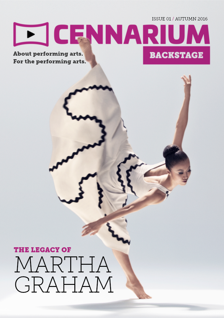 Cennarium Backstage Issue 1 (Autumn 2016)