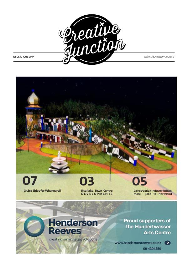Creative Junction Magazine June 16th 2017