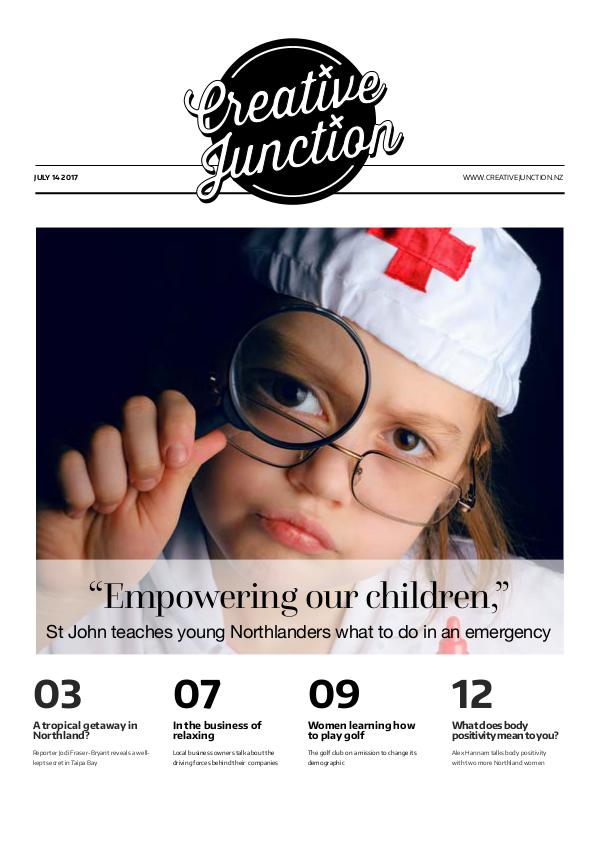 Creative Junction Magazine July 14th