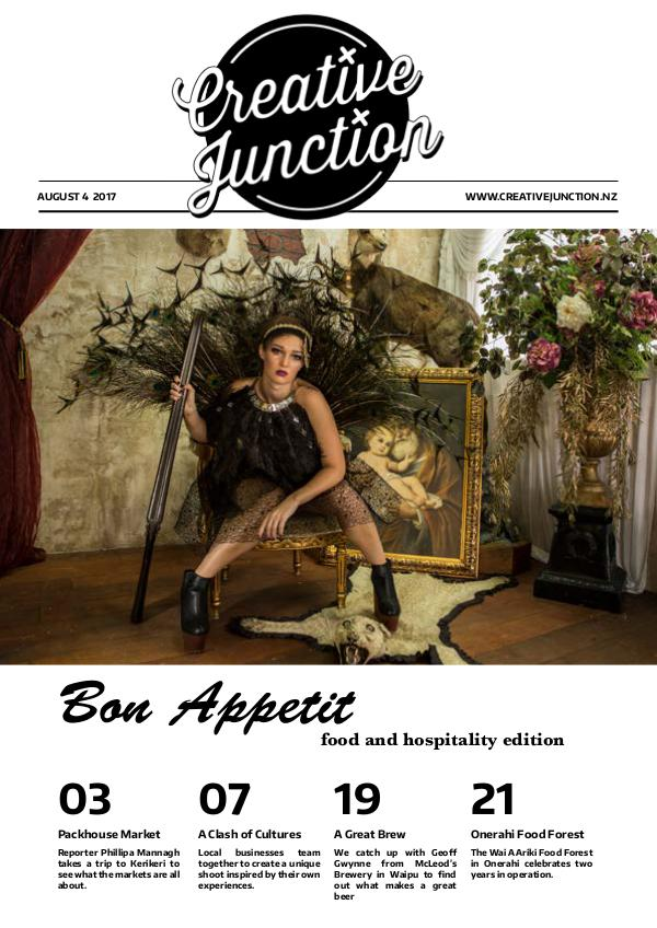 Creative Junction Magazine August 4th