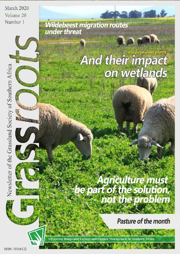 Grassroots Grassroots - Vol 20 No 1