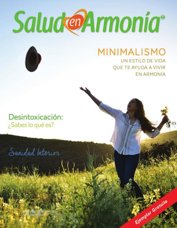 Revista Salud en Armonía Edición 26