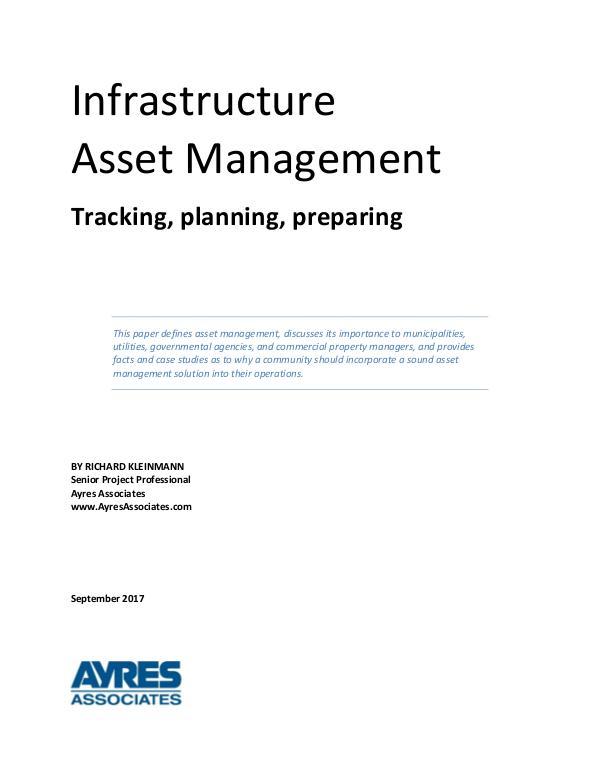 Ayres Knowledge Center Infrastructure Asset Management