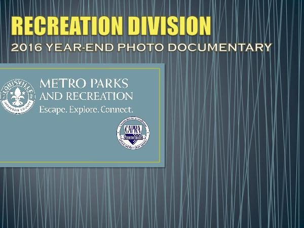 Louisville Metro Parks and Recreation