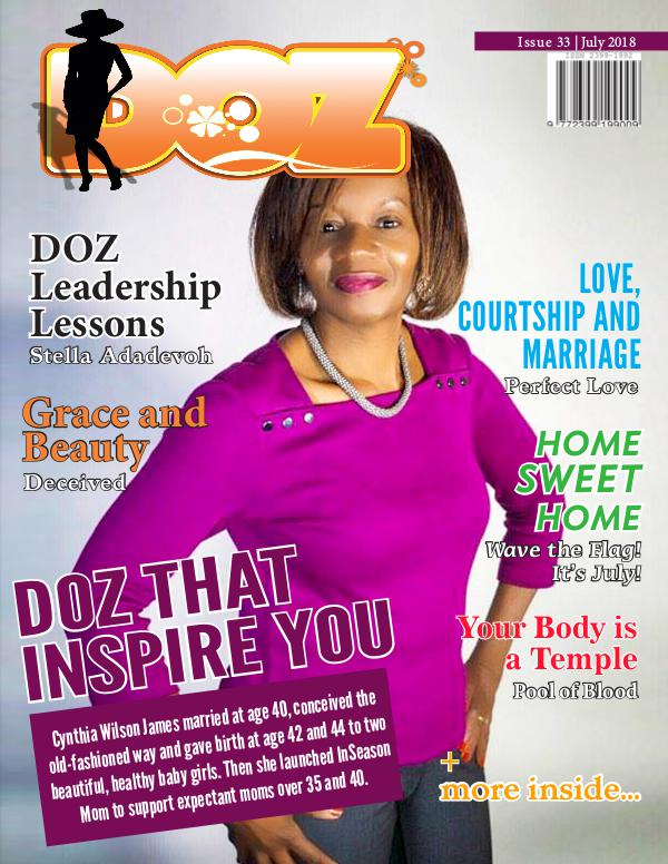DOZ Issue 33 July 2018