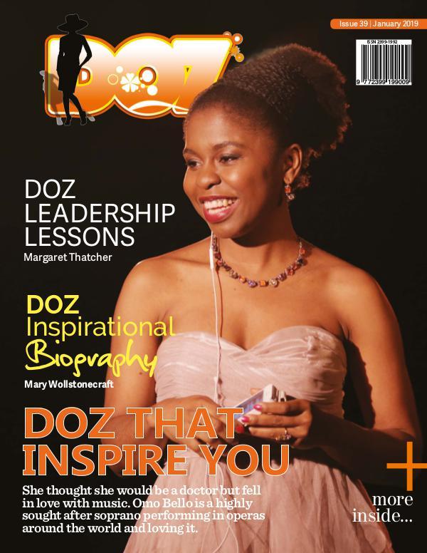 DOZ Issue 39 January 2019