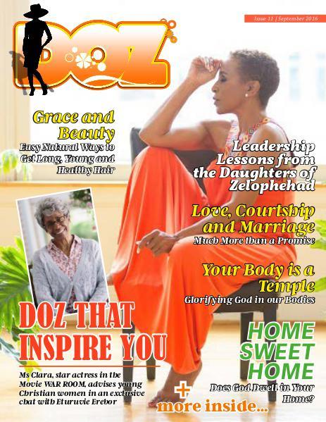 DOZ Issue 11 September 2016