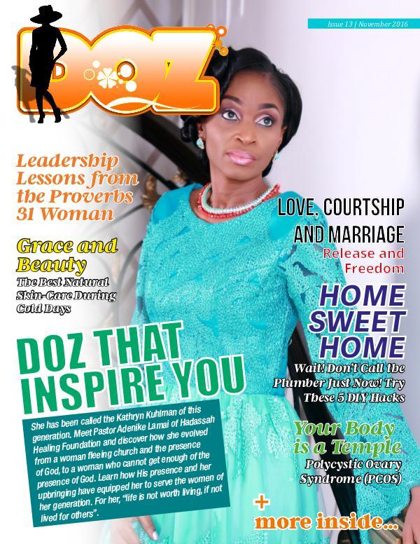 DOZ Issue 13 November 2016