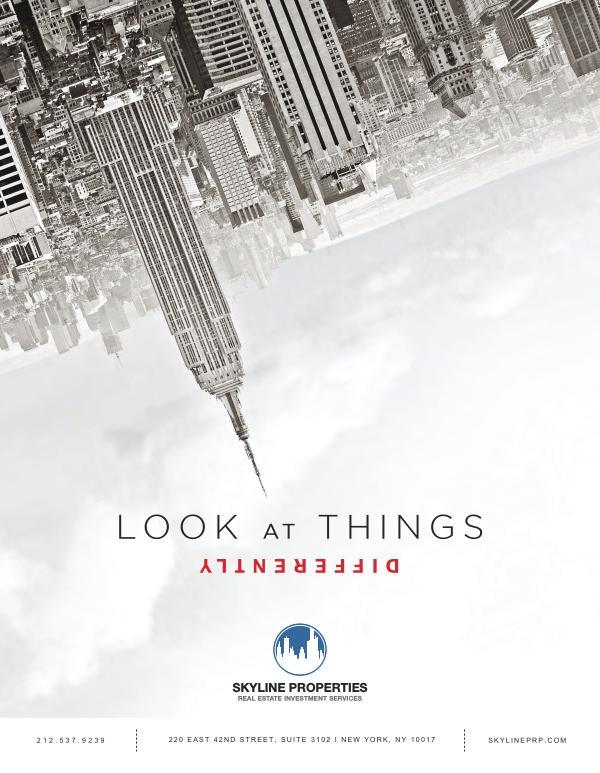 Skyline Properties Most Recent Press