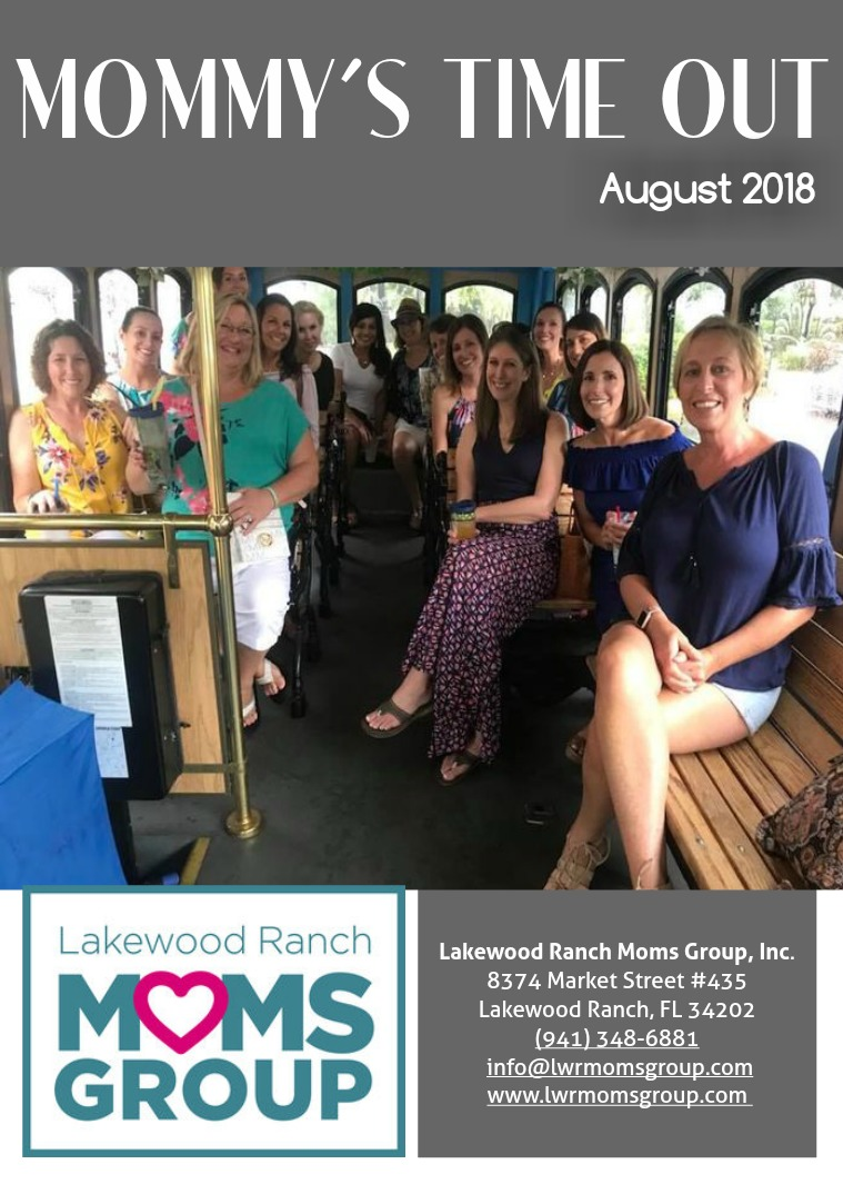 Mommy's Time Out Magazine August 2018