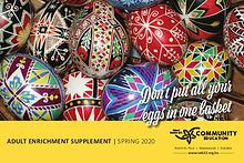 Adult Enrichment Spring Supplement