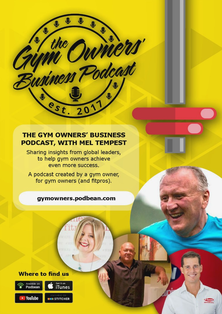 Mel Tempest Digital Library The Gym Owners' Business Podcast Guide - Volume 1