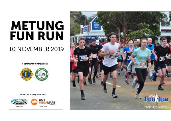 Metung Fun Run 2019
