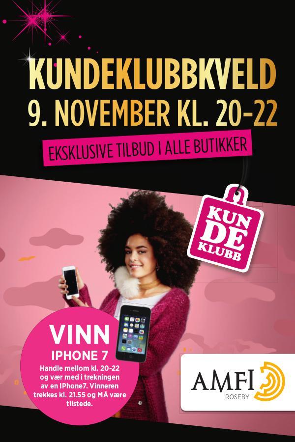 AMFI Roseby Kundeklubbkveld 9. november 2017