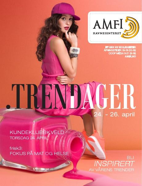 AMFI Havnesenteret Trenddager, mai 2014