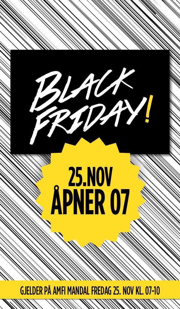 AMFI Mandal Black Friday tilbudskuponger