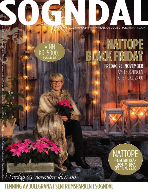 Julemagasin - Black Friday Nattope 25. november