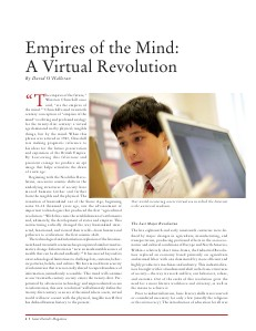 Empires of the Mind: A Virtual Revolution