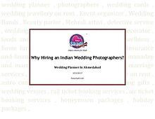 Why Hiring an Indian Wedding Photographers?