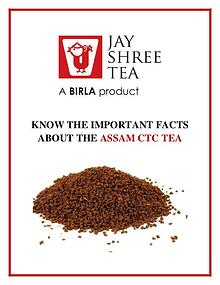 Know The Important Facts About The Assam Ctc Tea